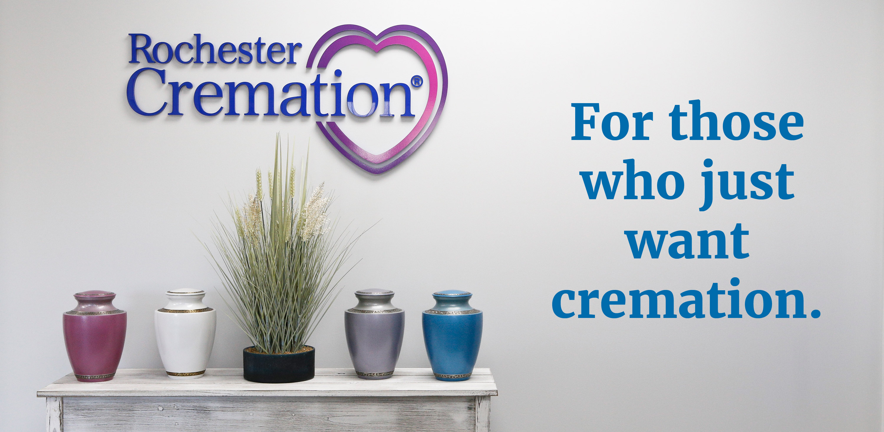 For those who just want cremation.