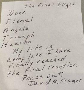 David Kramer - Rochester Cremation